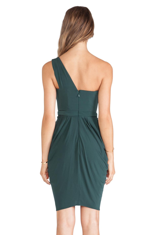 Bcbgmaxazria Julieta One Shoulder Dress In Green Lyst