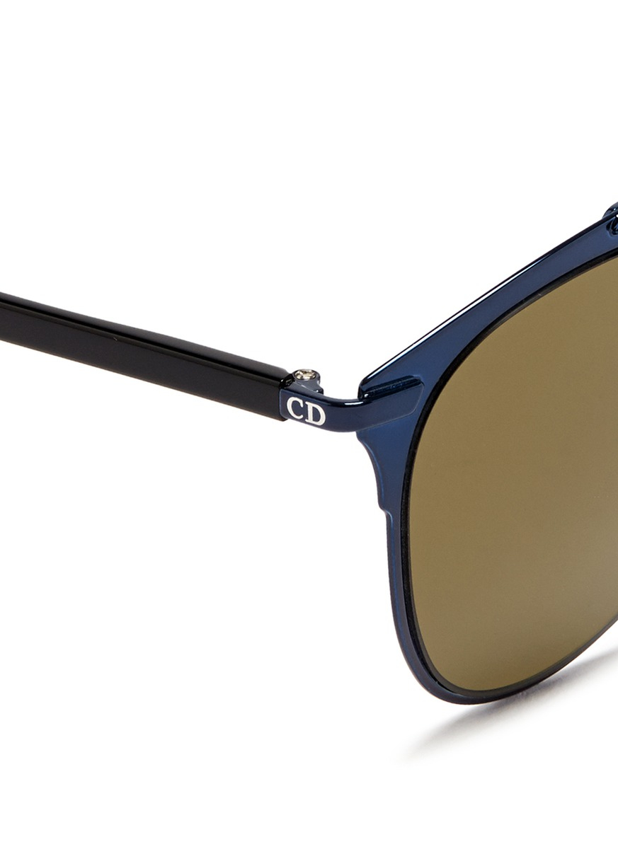 674f82bf75d Dior Aviator Sunglasses With Colored Internal Frame