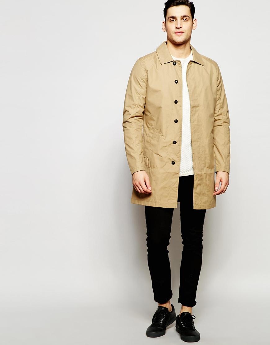 jack jones premium textured knitted jumper in beige for. Black Bedroom Furniture Sets. Home Design Ideas