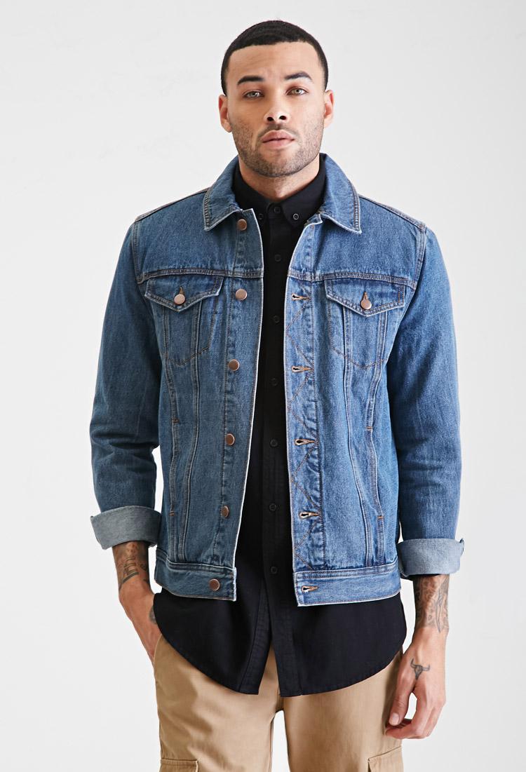 Denim Jacket For Men Photo Album - Vicing