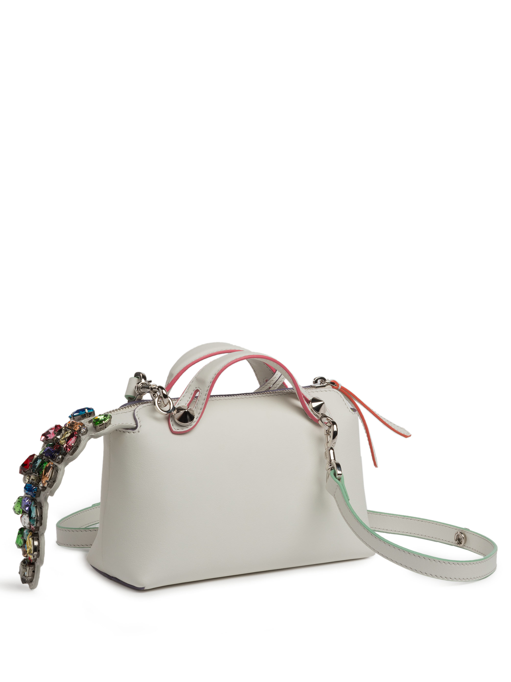 0a87e2cfb5 Lyst - Fendi By The Way Mini-satchel in White