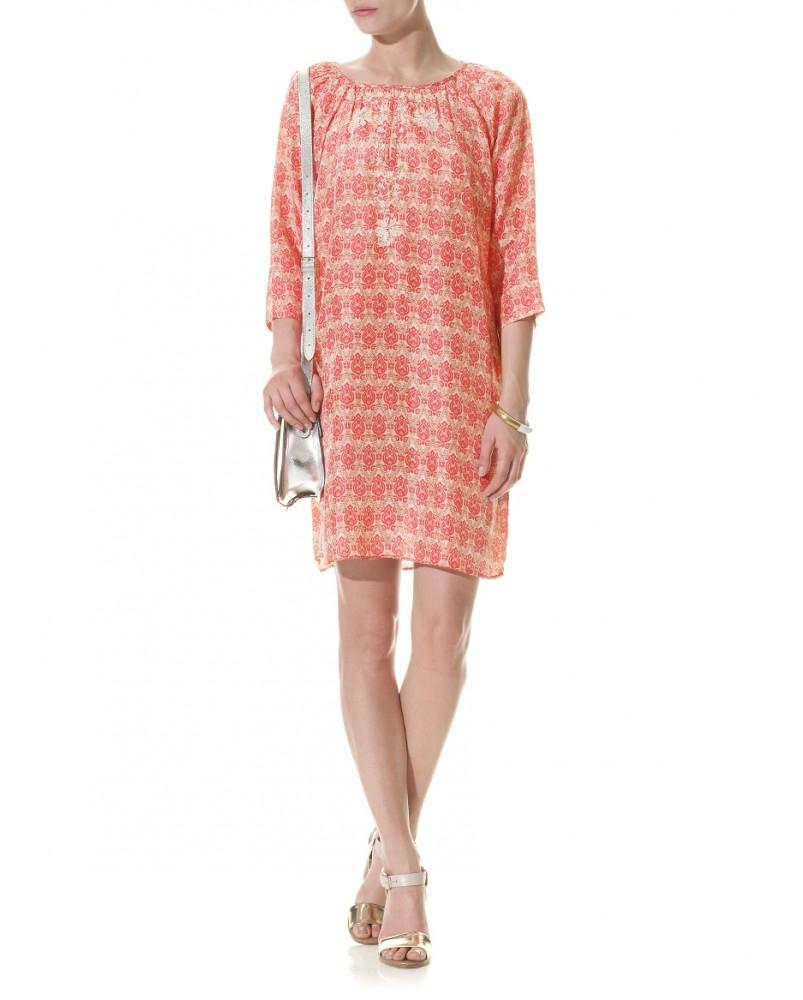 day birger et mikkelsen day amelie dress in pink lyst. Black Bedroom Furniture Sets. Home Design Ideas