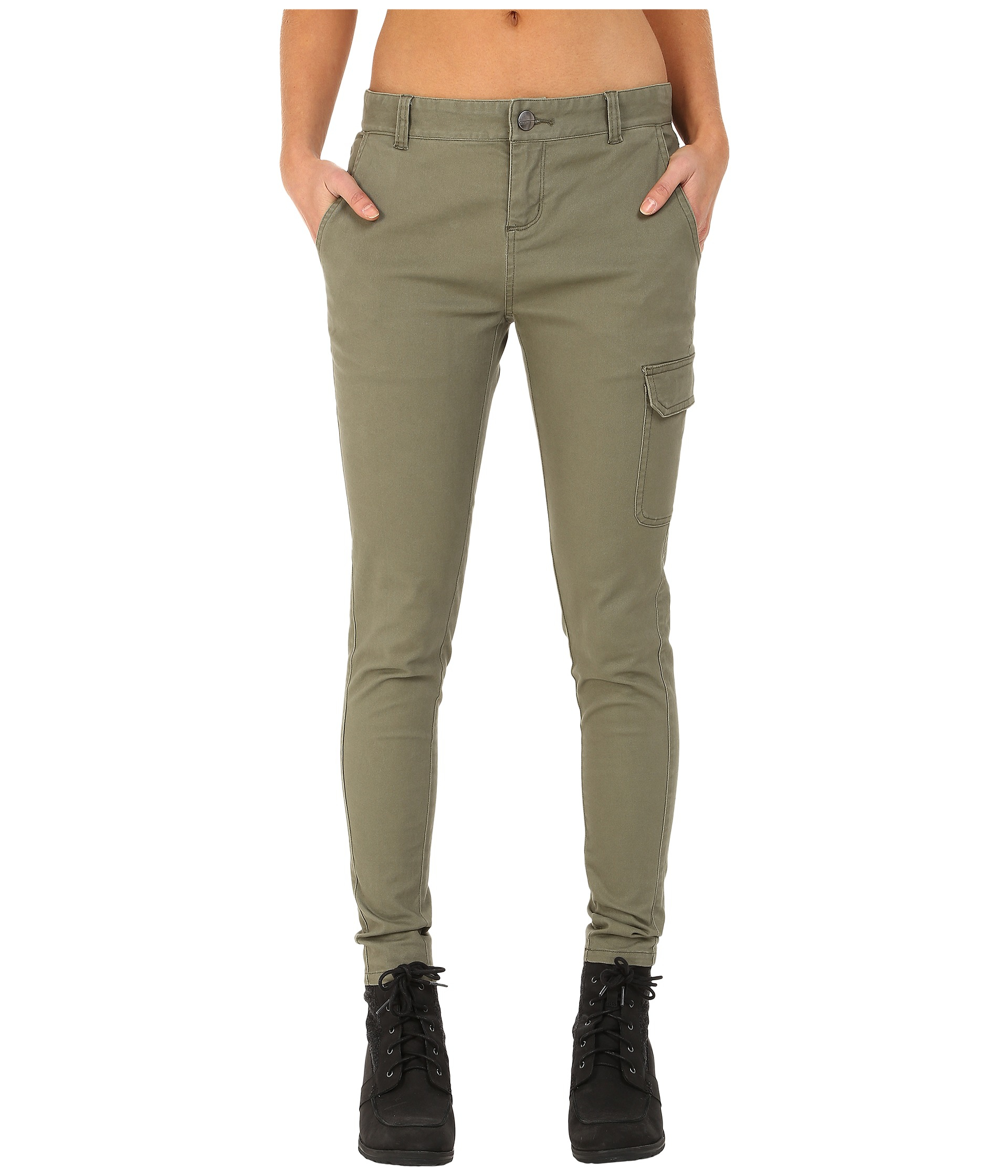 Mountain hardwear Sojourner™ Twill Cargo Pants in Green | Lyst