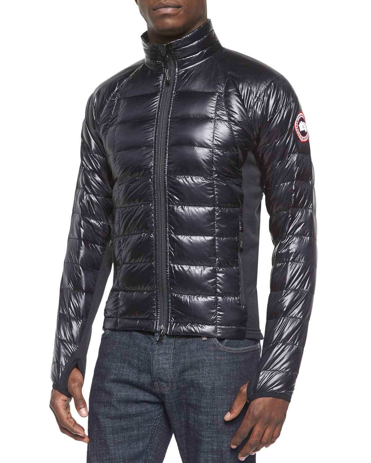 Canada goose Hybridge Lite Jacket in Black | Lyst - photo#13
