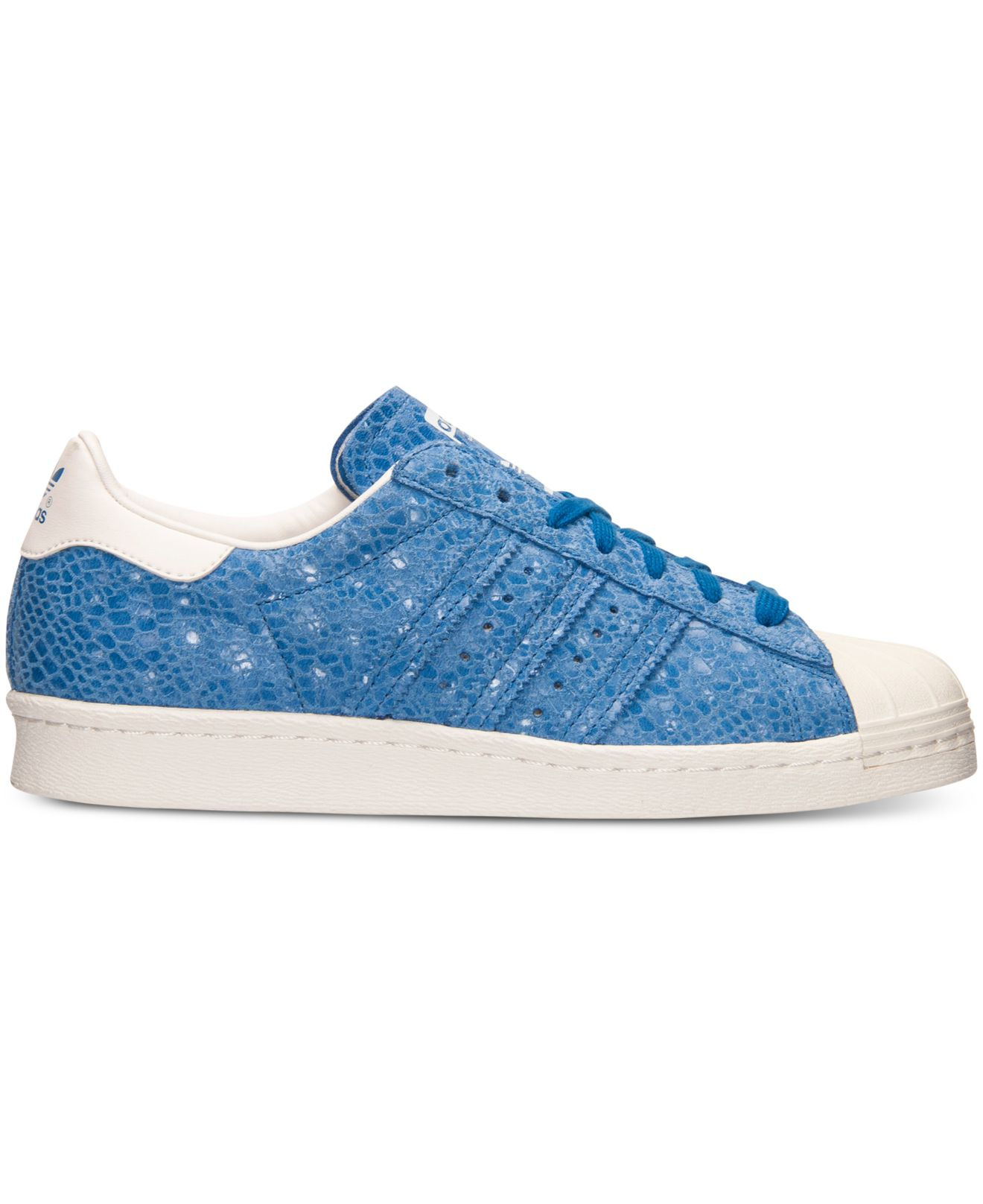 best loved 40e1c fe627 Lyst - adidas Originals Womens Superstar 80s Casual Sneakers