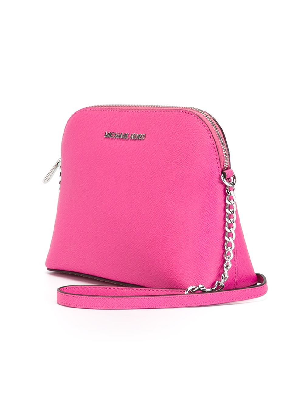 5c6cf22b3625 ... discount code for lyst michael michael kors cindy crossbody bag in pink  aef14 61b20