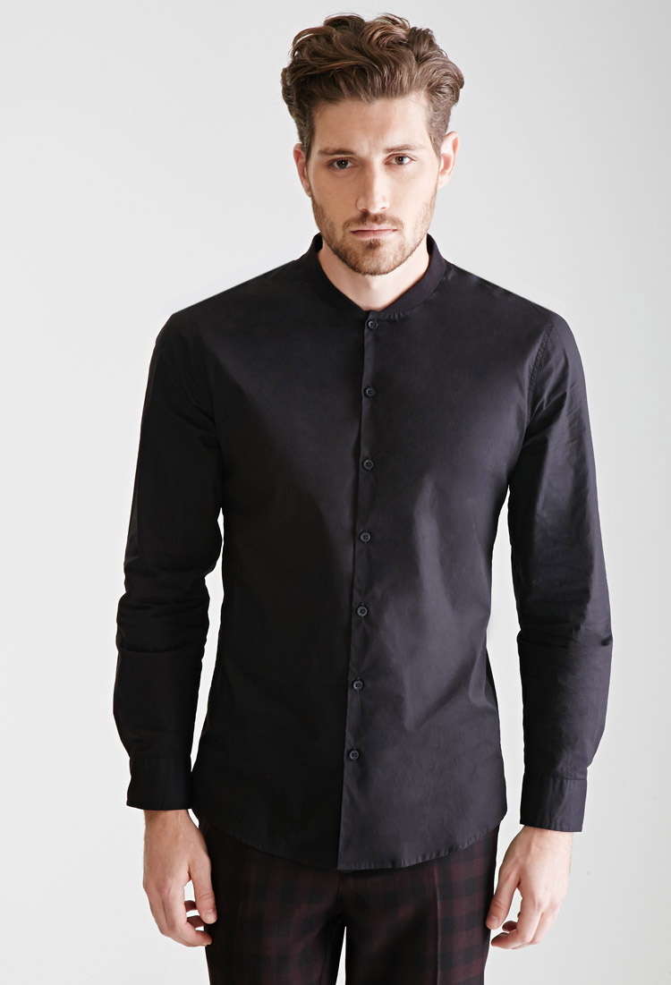 Cheap Black Dress Shirts
