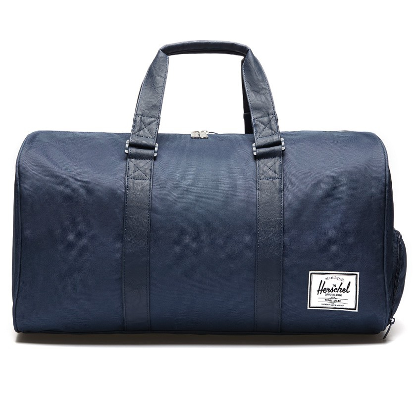Gym Bag Herschel: Herschel Supply Co. Navy / Navy Novel Duffel Bag In Blue