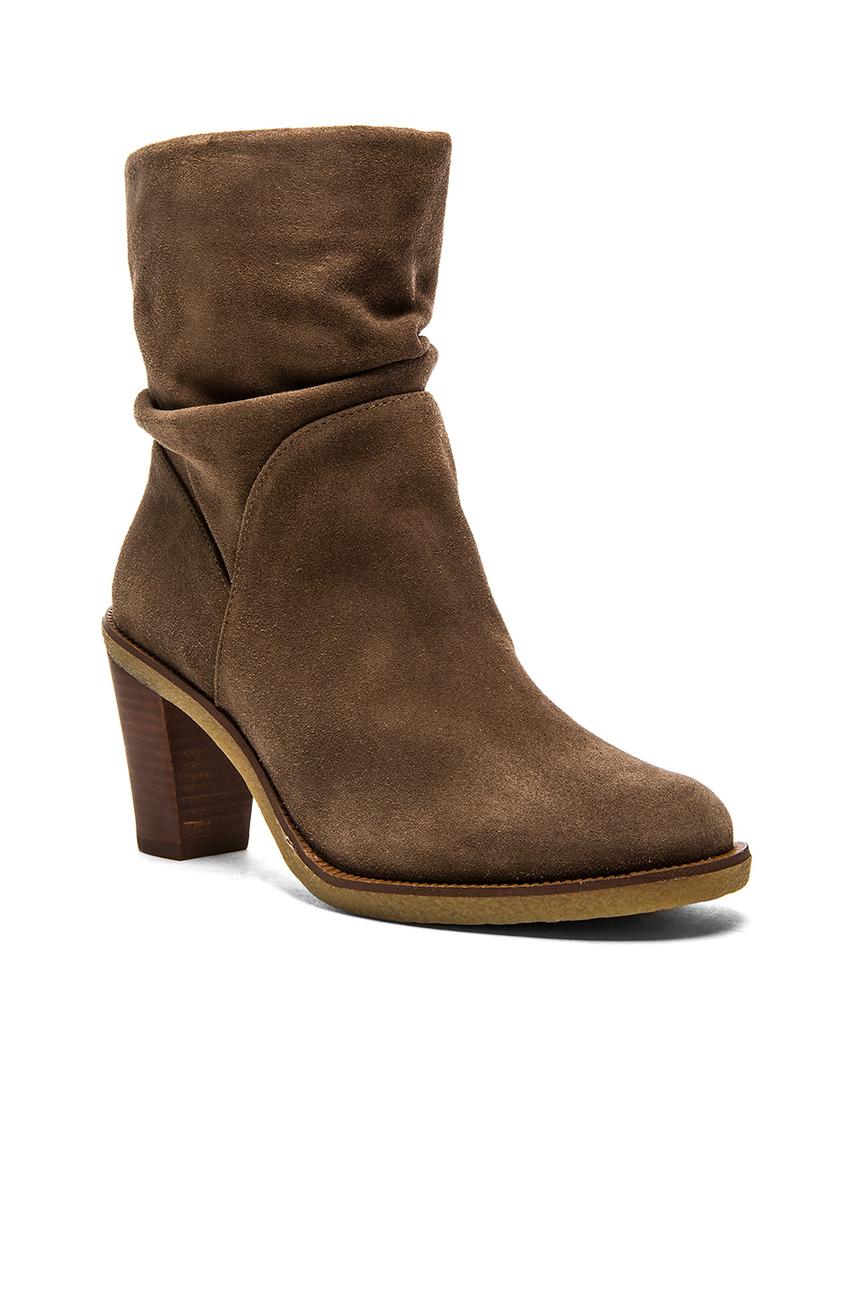 Lyst Vince Camuto Parka Bootie In Brown