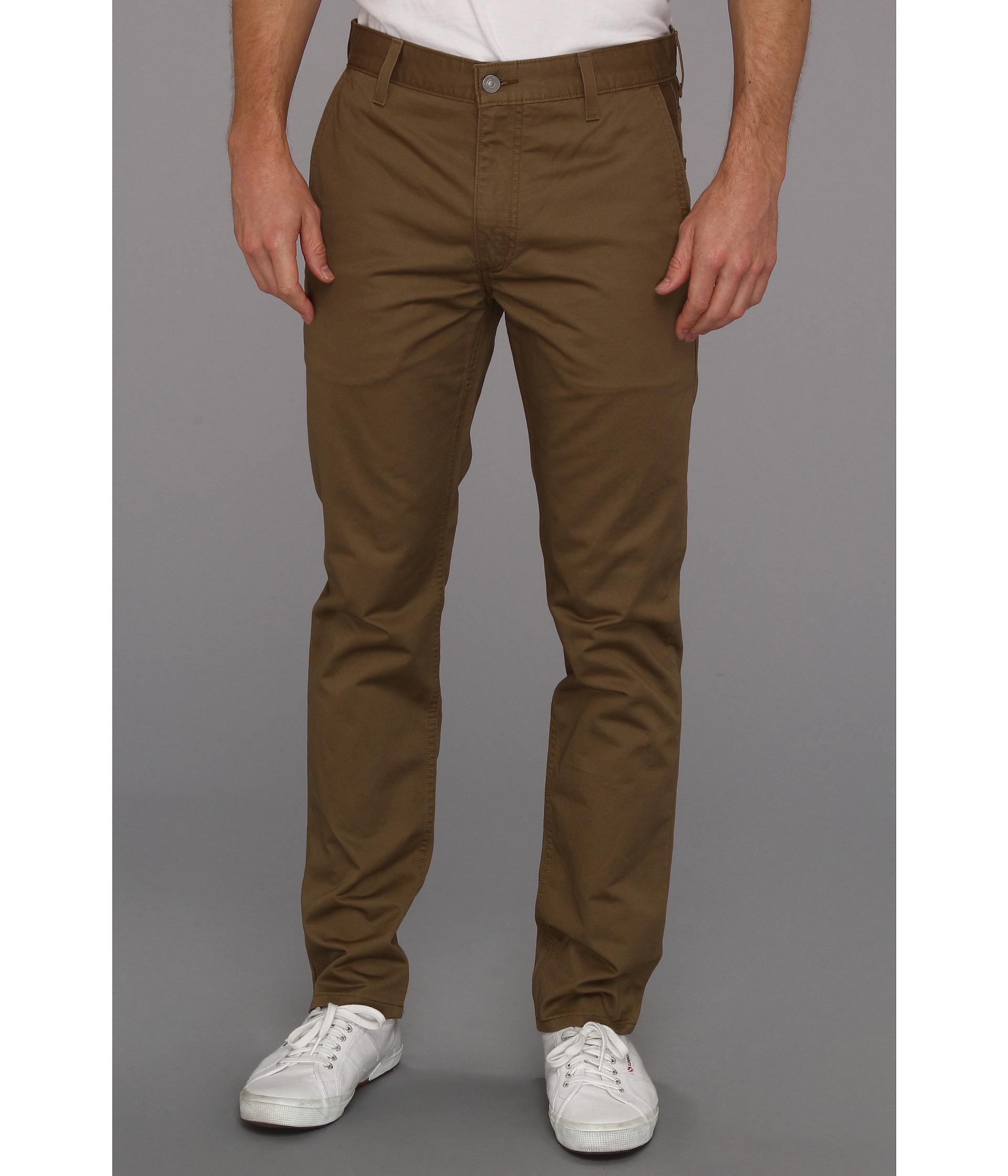 levi 39 s brown 511 slim skinny fit hybrid trouser for men lyst. Black Bedroom Furniture Sets. Home Design Ideas