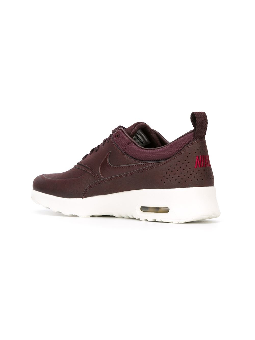 nike pink 39 air max thea 39 sneakers lyst. Black Bedroom Furniture Sets. Home Design Ideas