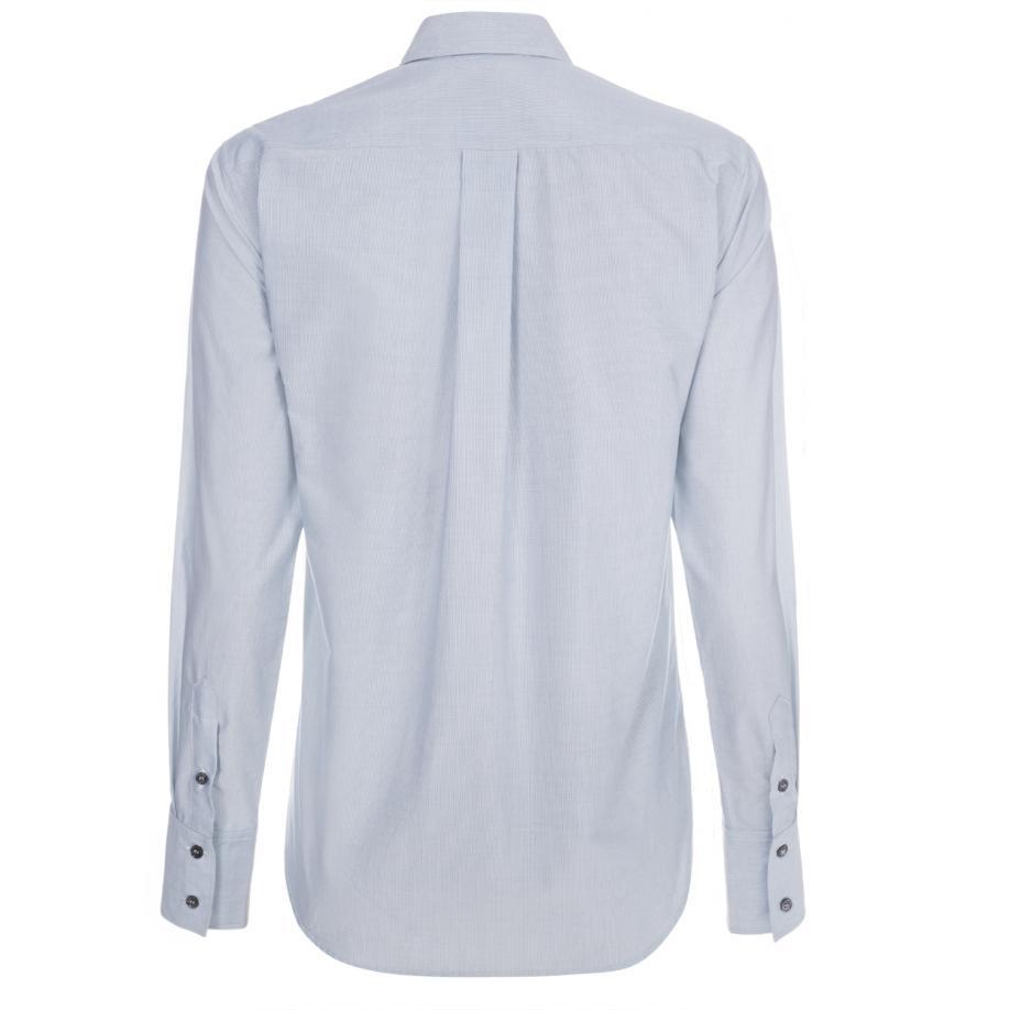 Paul Smith Women 39 S Light Blue Pinstripe Shirt With