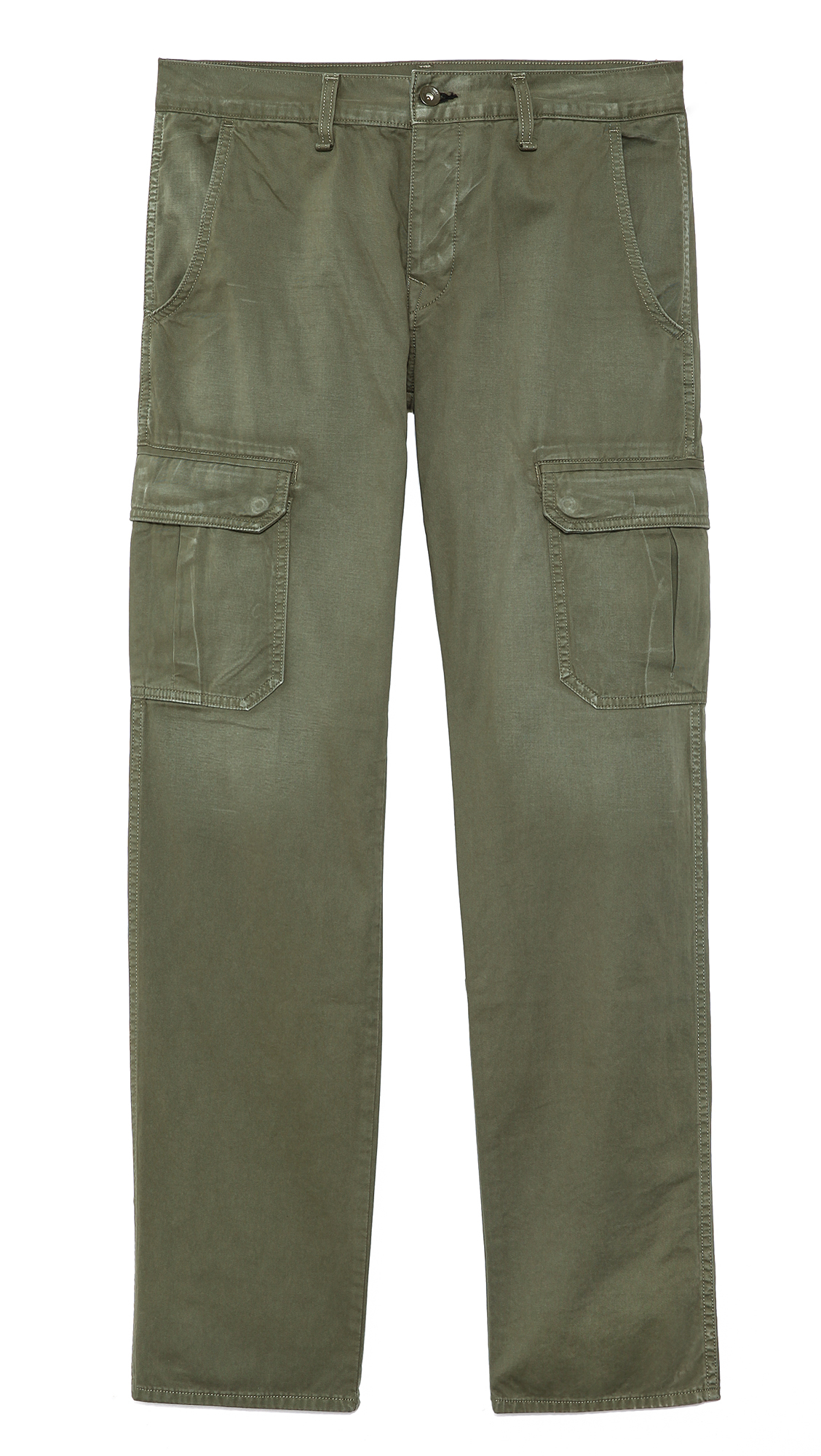 Rag & bone Distressed Army Radar Cargo Pants in Green for Men | Lyst