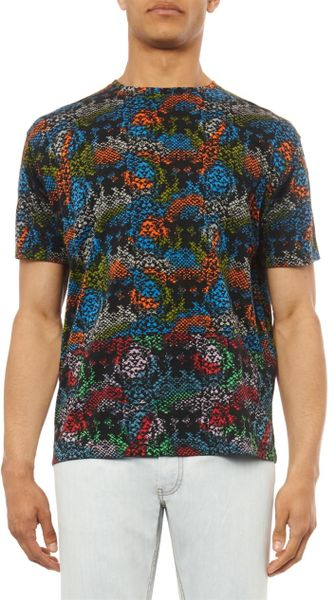 Snake Print Shirt Mens Rex Snake-print T-shirt in
