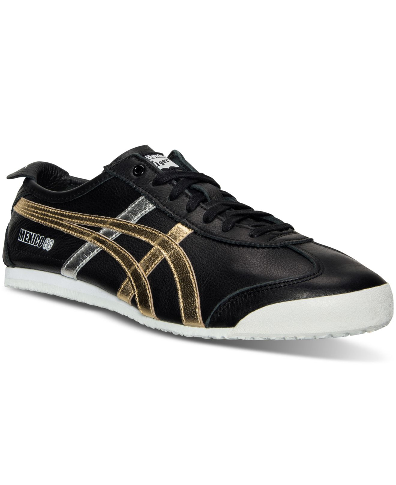 gold silver mens asics onitsuka tiger mexico 66 shoes. Black Bedroom Furniture Sets. Home Design Ideas