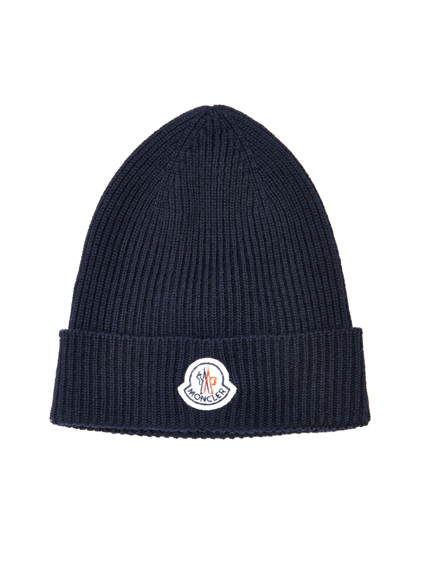 Moncler Beanie Hat Navy