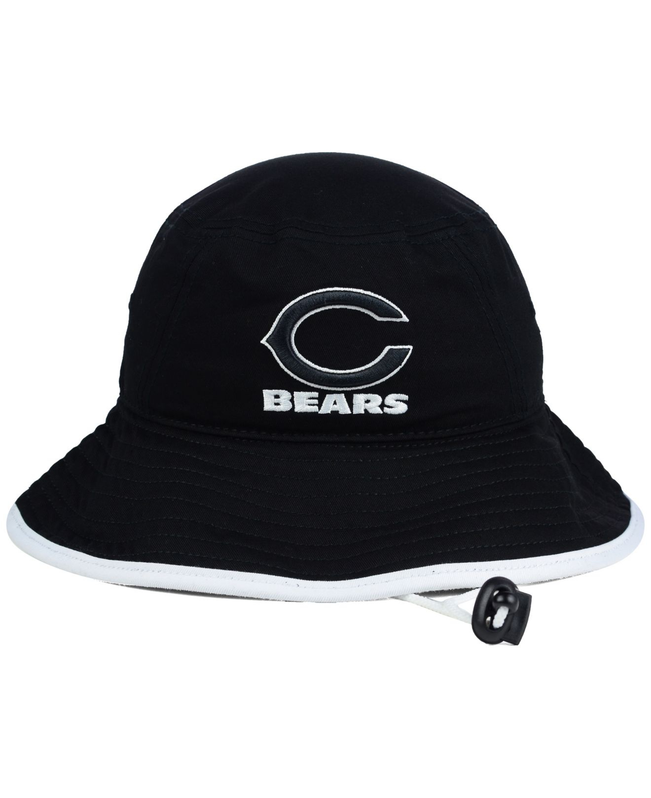 Discount KTZ Chicago Bears Nfl Black White Bucket Hat in Black Lyst  free shipping
