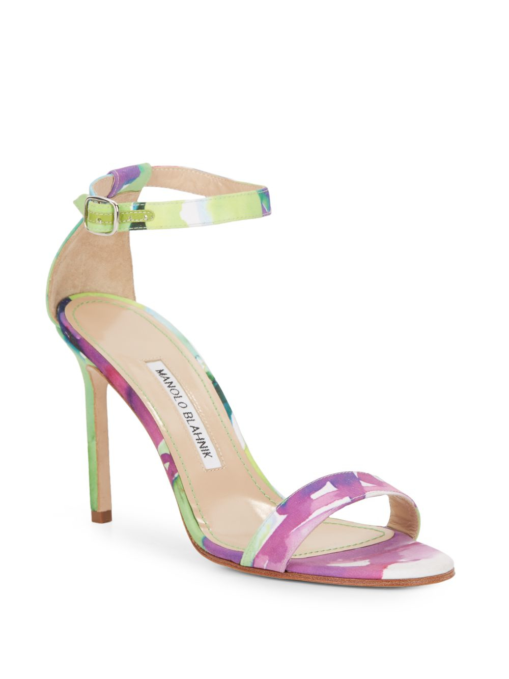 9501070cca6a manolo blahnik green sandals