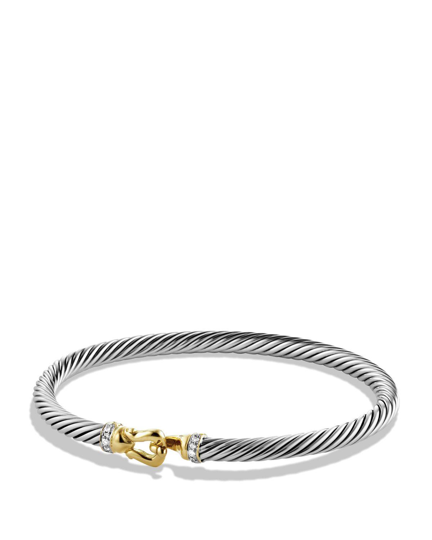 David Yurman Cable buckle bracelet - Metallic sktnn7jQI