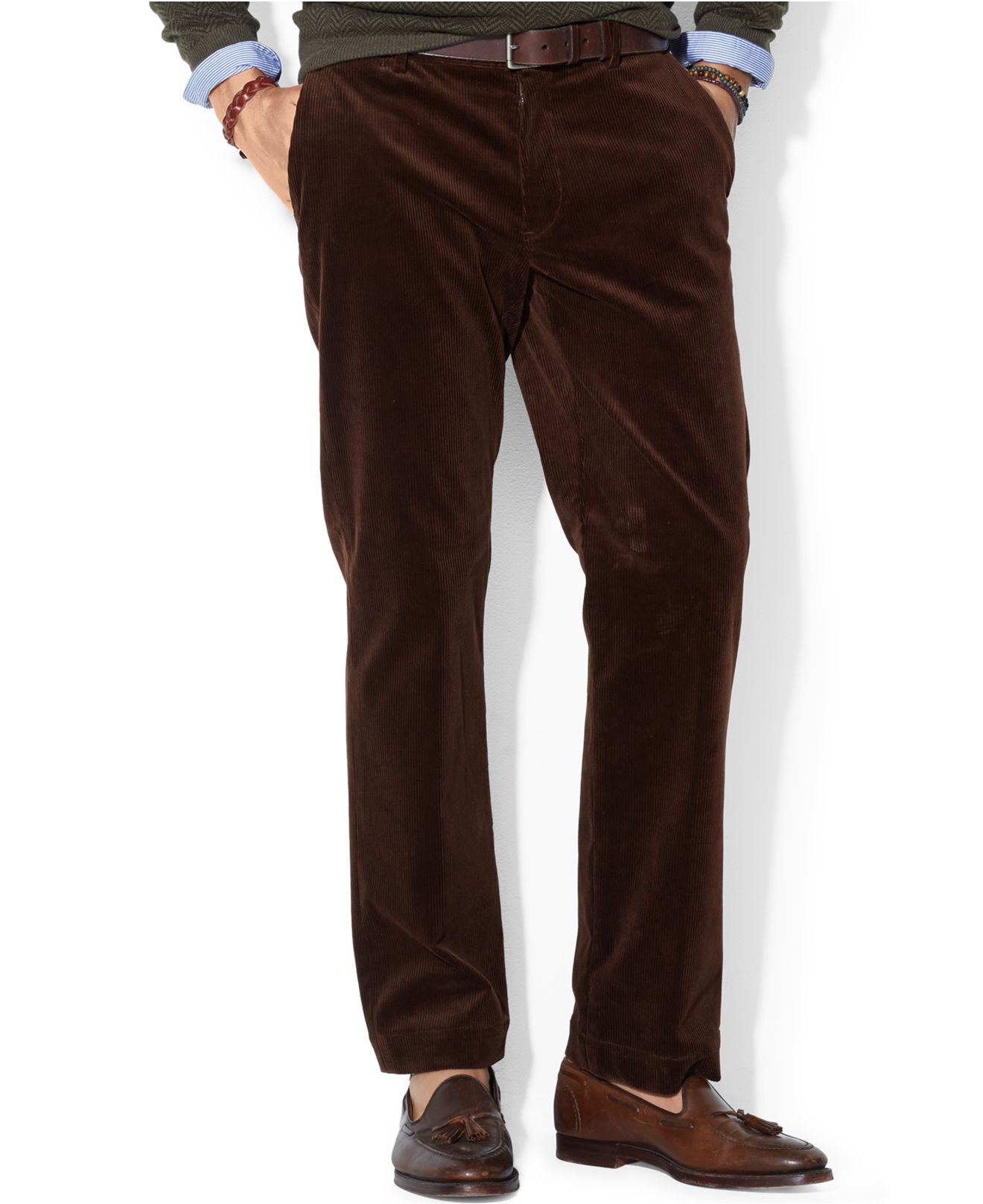Polo ralph lauren Classic-Fit Newport Corduroy Pants in Brown for ...