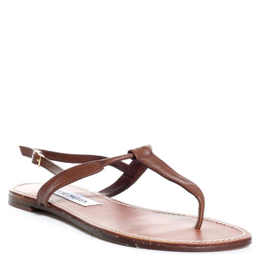 steve madden seeri sandal in brown lyst. Black Bedroom Furniture Sets. Home Design Ideas