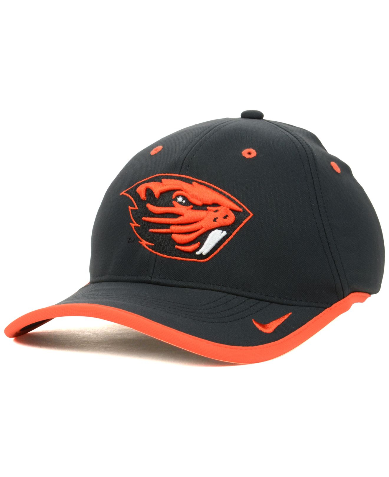 separation shoes 014bd 88cad ... cheap lyst nike oregon state beavers coaches dri fit cap in black for  men bfad3 b5ee4