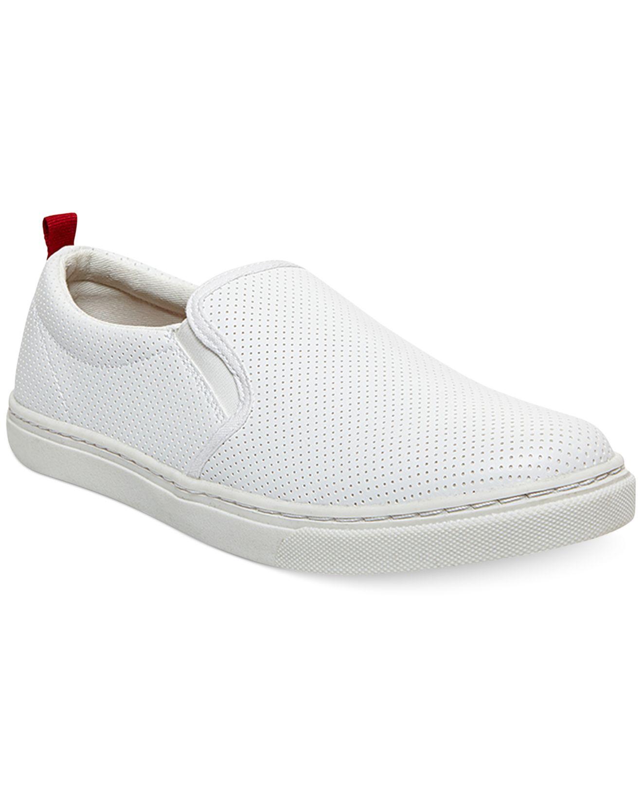 b66f2b9dc17 Lyst - Steve Madden Madden Height Slip-On Sneakers in White for Men