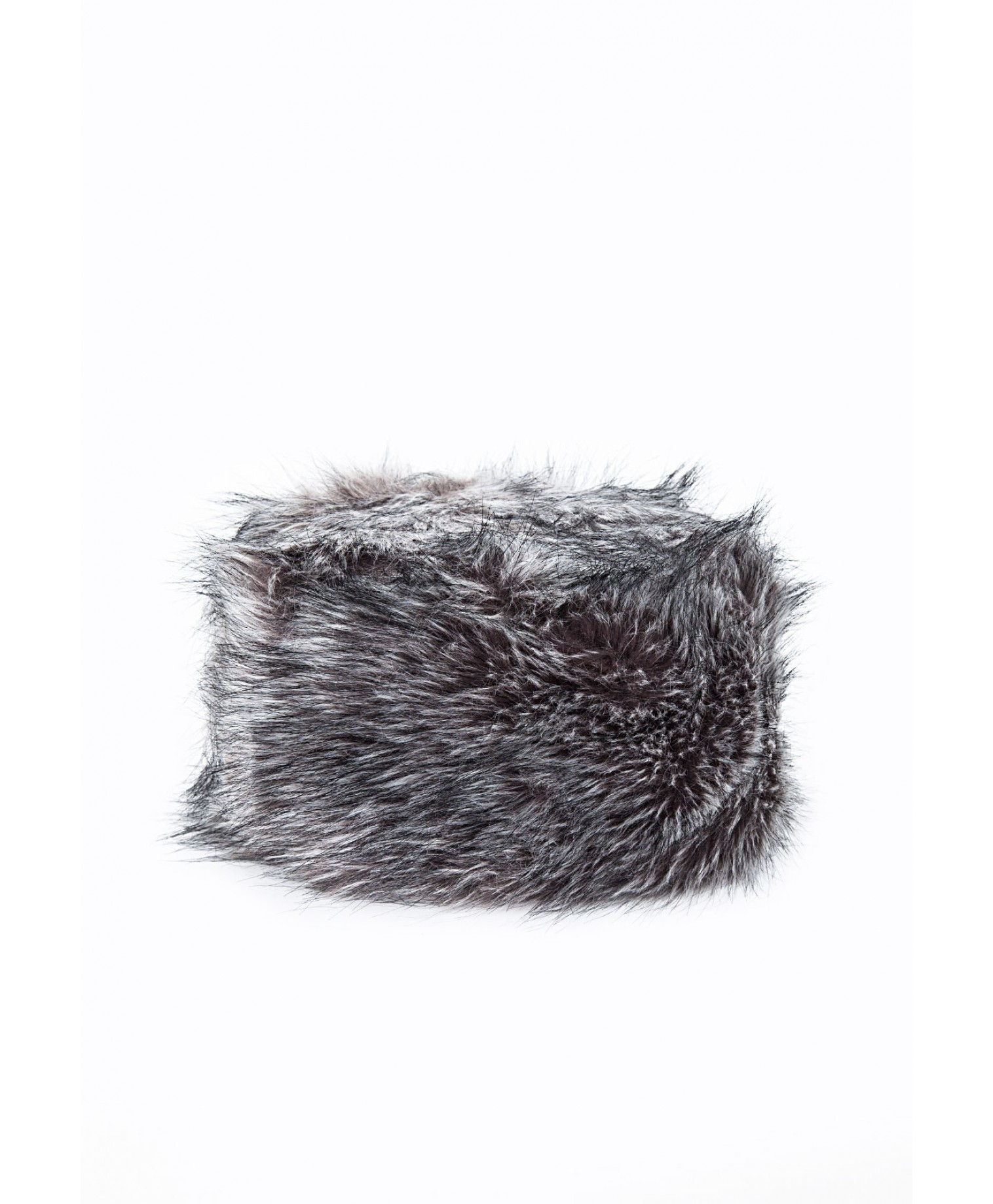 d1c972e2 Missguided Raziya Faux Fur Hat Grey in Gray - Lyst