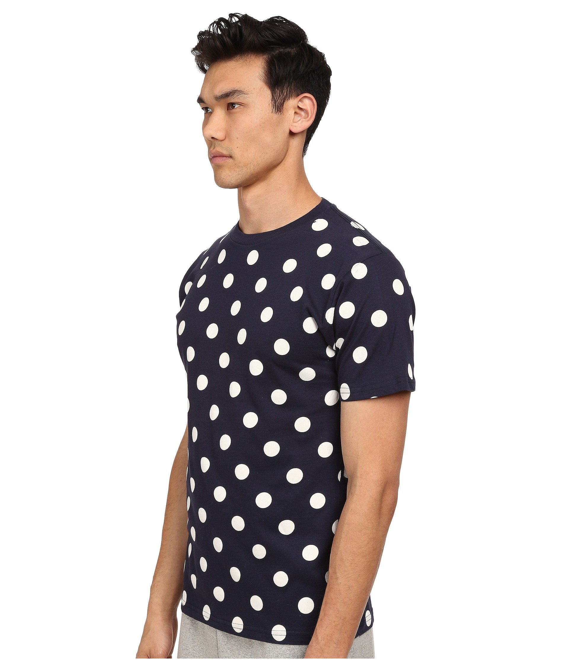 Buy low price, high quality black white polka dot tee with worldwide shipping on angrydog.ga
