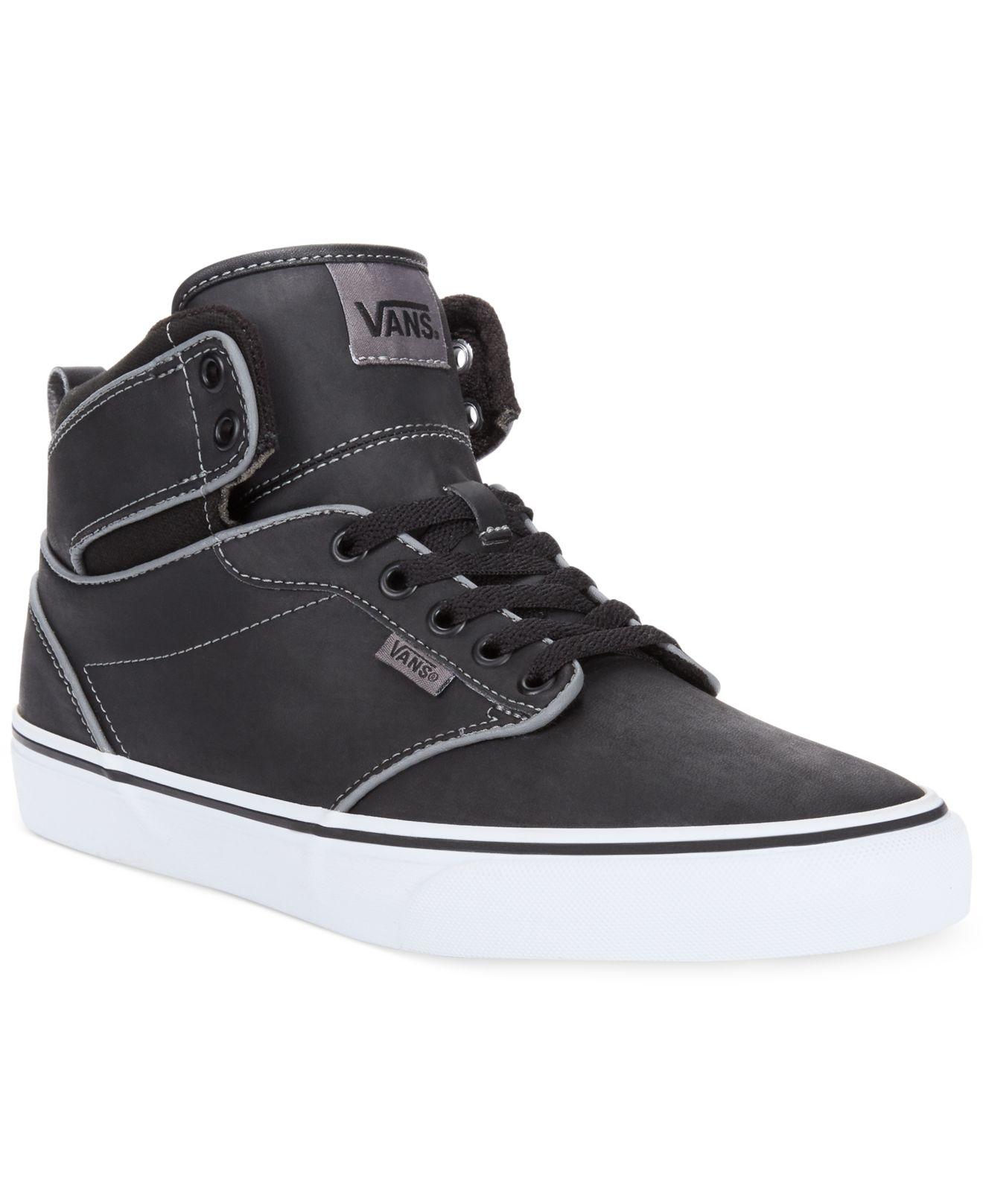 efdadc5bc753ea Lyst - Vans Atwood Hi-Top Sneakers in Black for Men