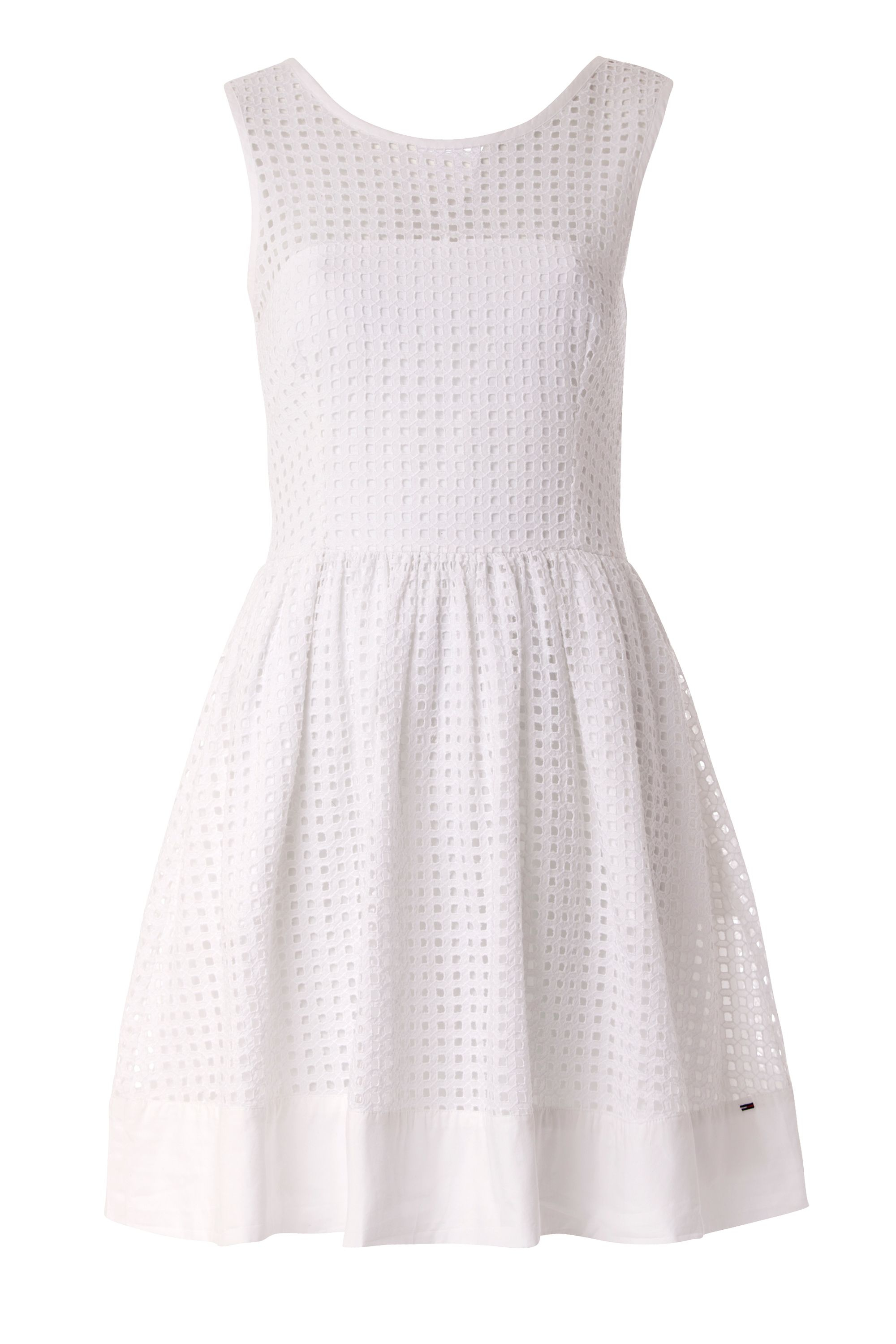 Lyst Tommy Hilfiger Gathered Skirt Dress in White