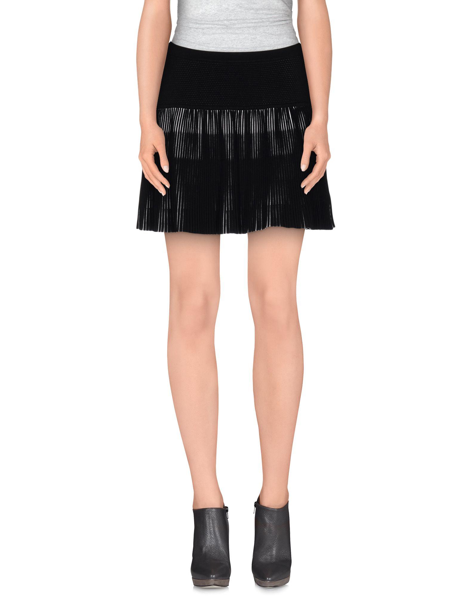 guess mini skirt in black lyst