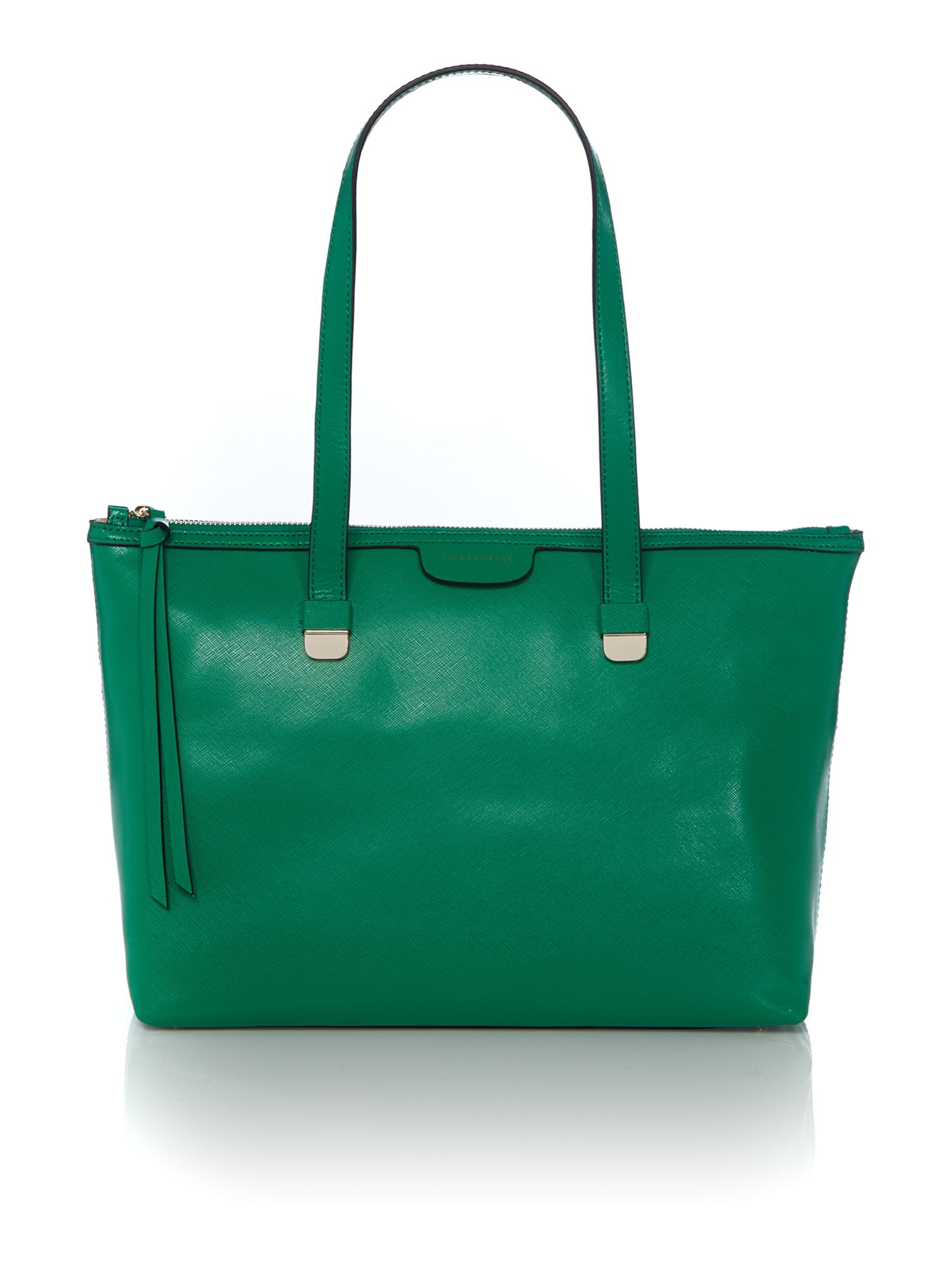 coccinelle green tote bag in green lyst. Black Bedroom Furniture Sets. Home Design Ideas