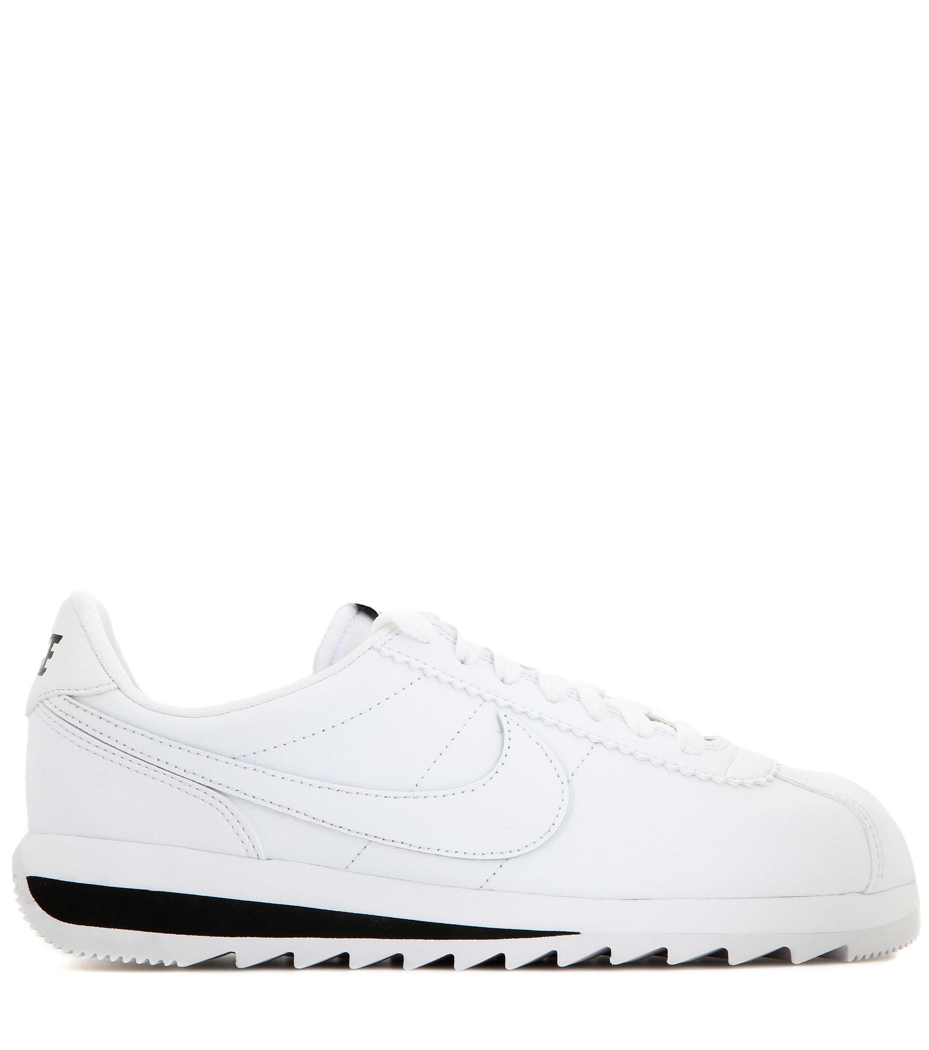 buy popular e2f9a db018 ... uk lyst nike classic cortez epic premium leather sneakers in white  8c4d8 49f1e