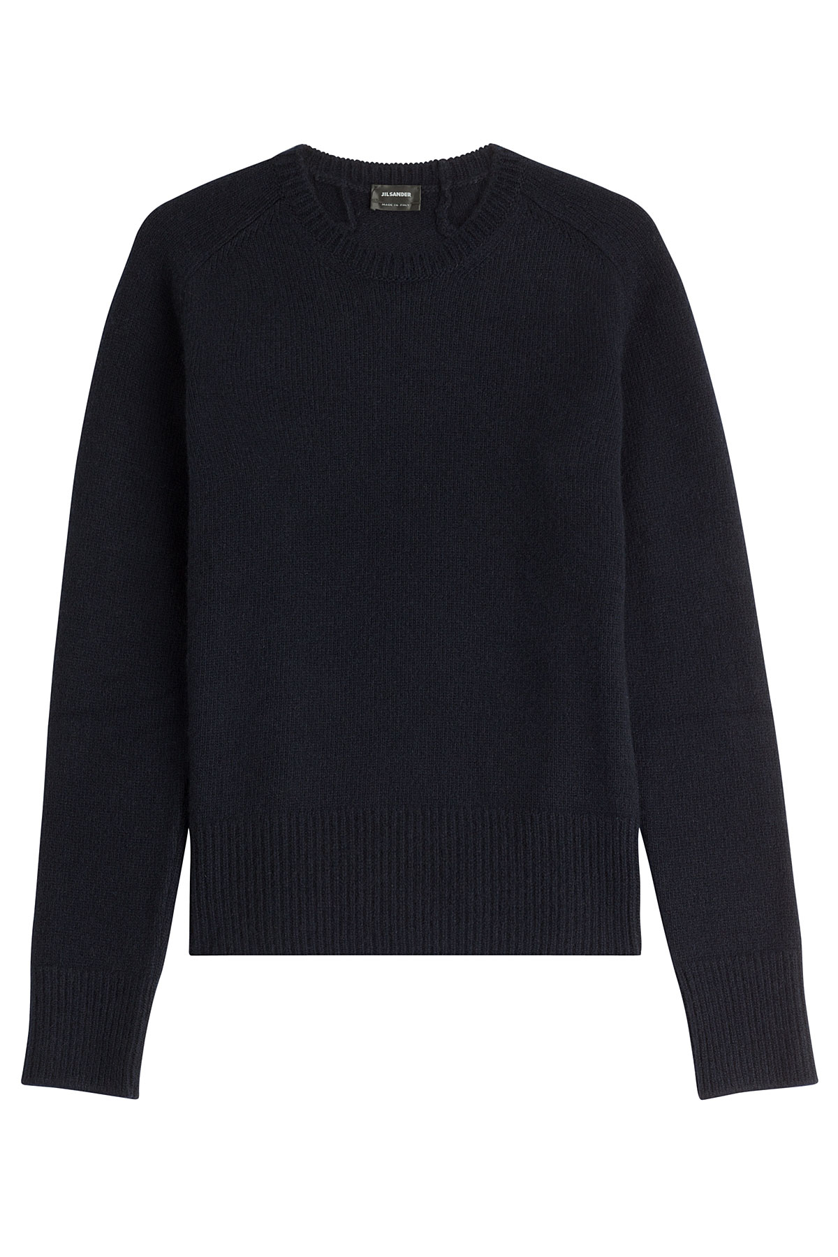 jil sander cashmere pullover blue in blue for men lyst. Black Bedroom Furniture Sets. Home Design Ideas