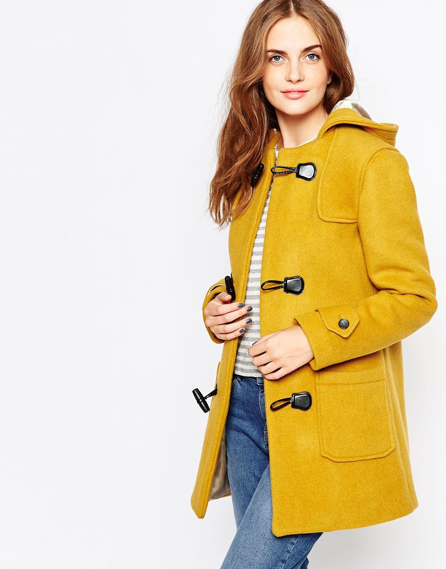 Cooper & stollbrand Heritage Duffle Coat With Toggle Closure in ...