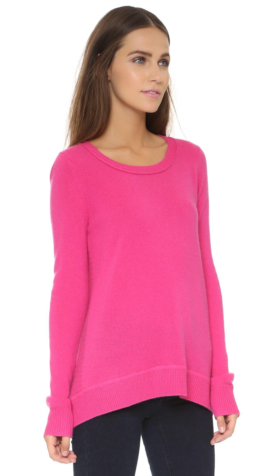 Diane von furstenberg Dvf Kingston Cashmere Pullover in Pink | Lyst