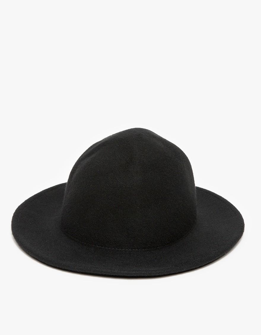 d8c43b5ea07 Lyst - Han Kjobenhavn Hat In Black in Black