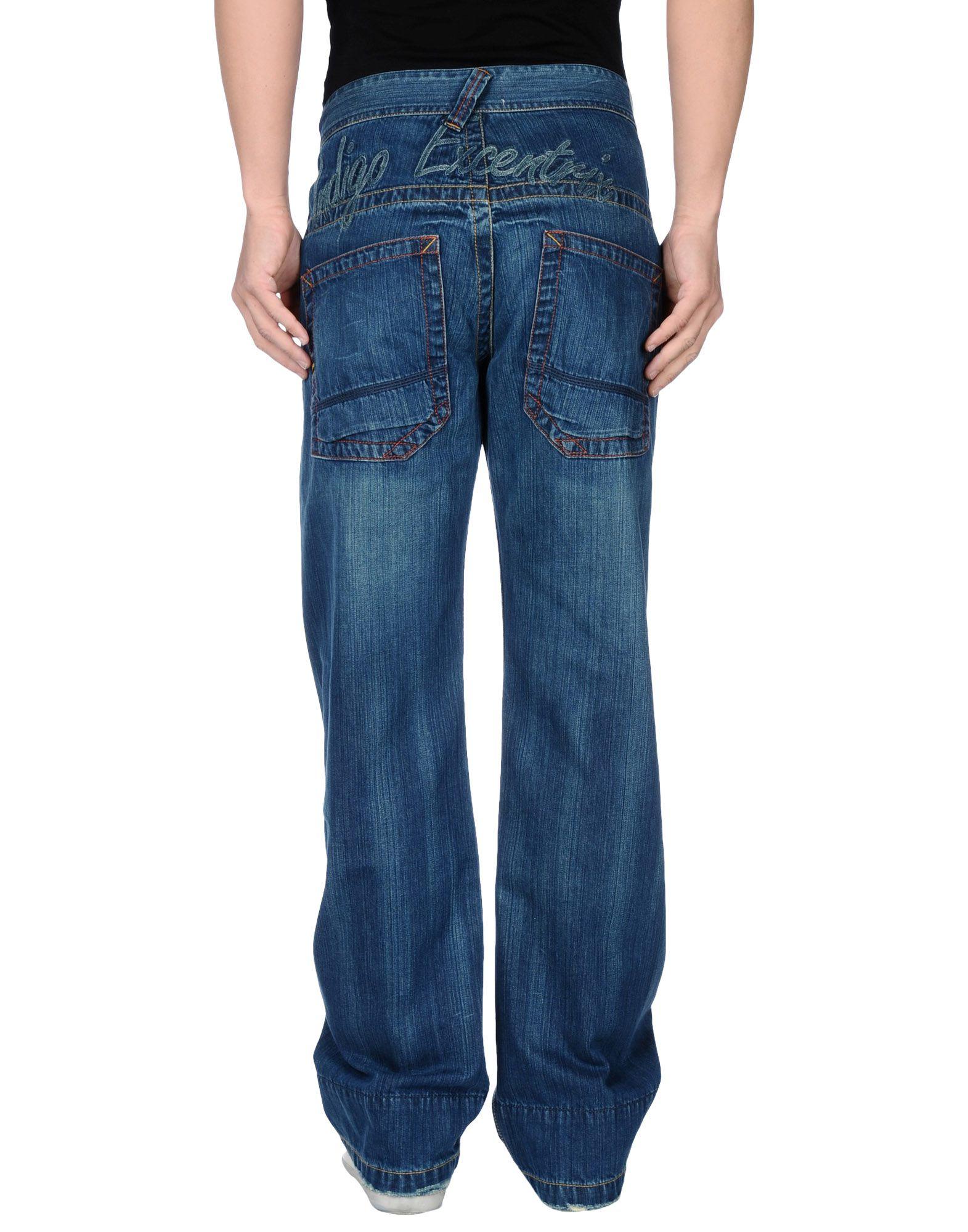 pepe jeans denim trousers in blue for men lyst. Black Bedroom Furniture Sets. Home Design Ideas