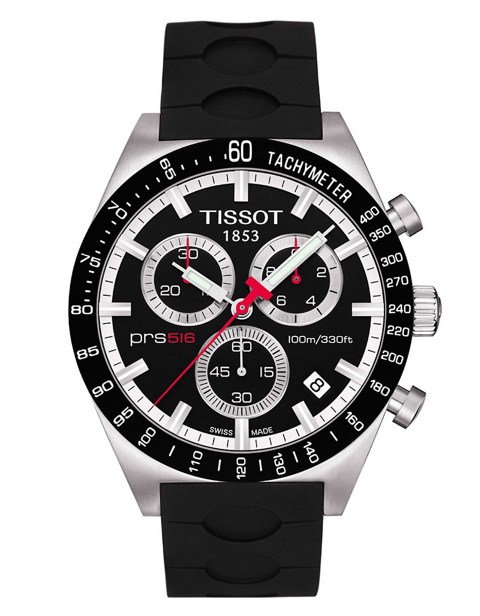 ff6e060a4 Tissot Men's Prs 516 Automatic Chronograph Sport Watch in Black for ...