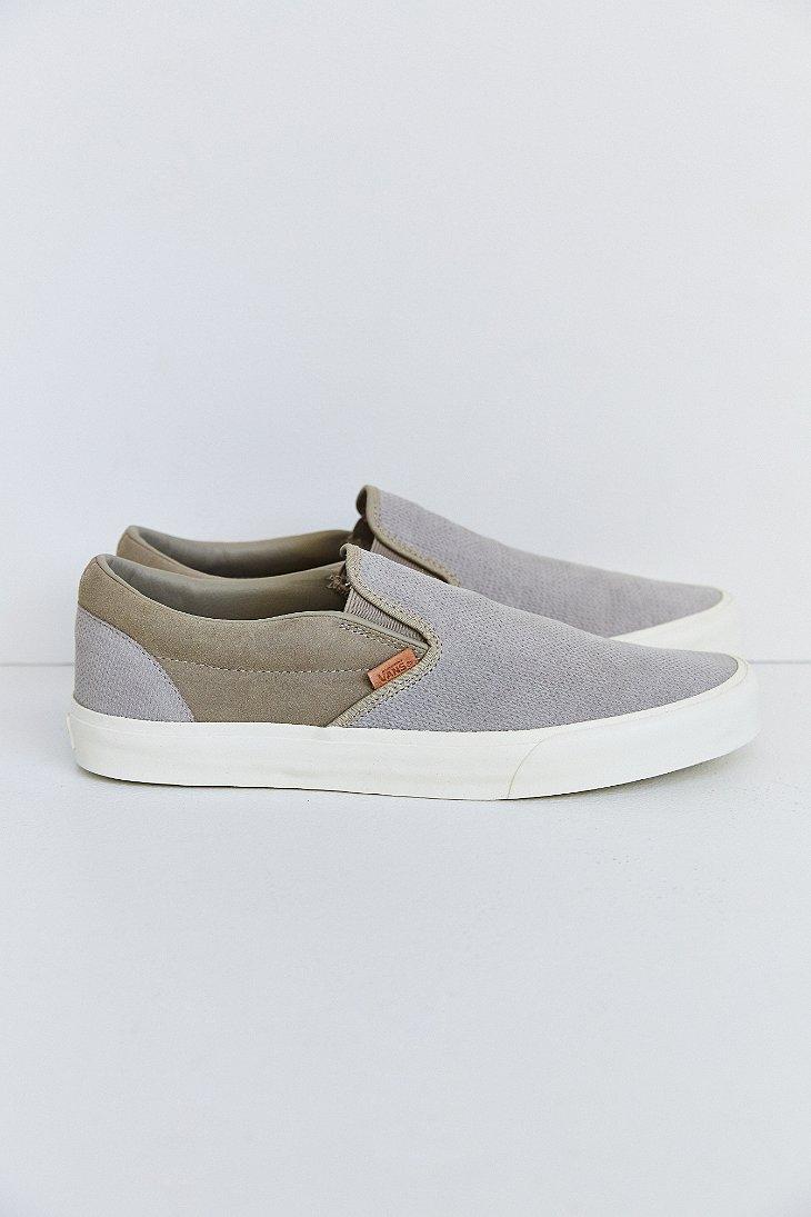 49d7288cc59 Lyst - Vans Classic California Knit Suede Slip-On Men S Sneaker in ...