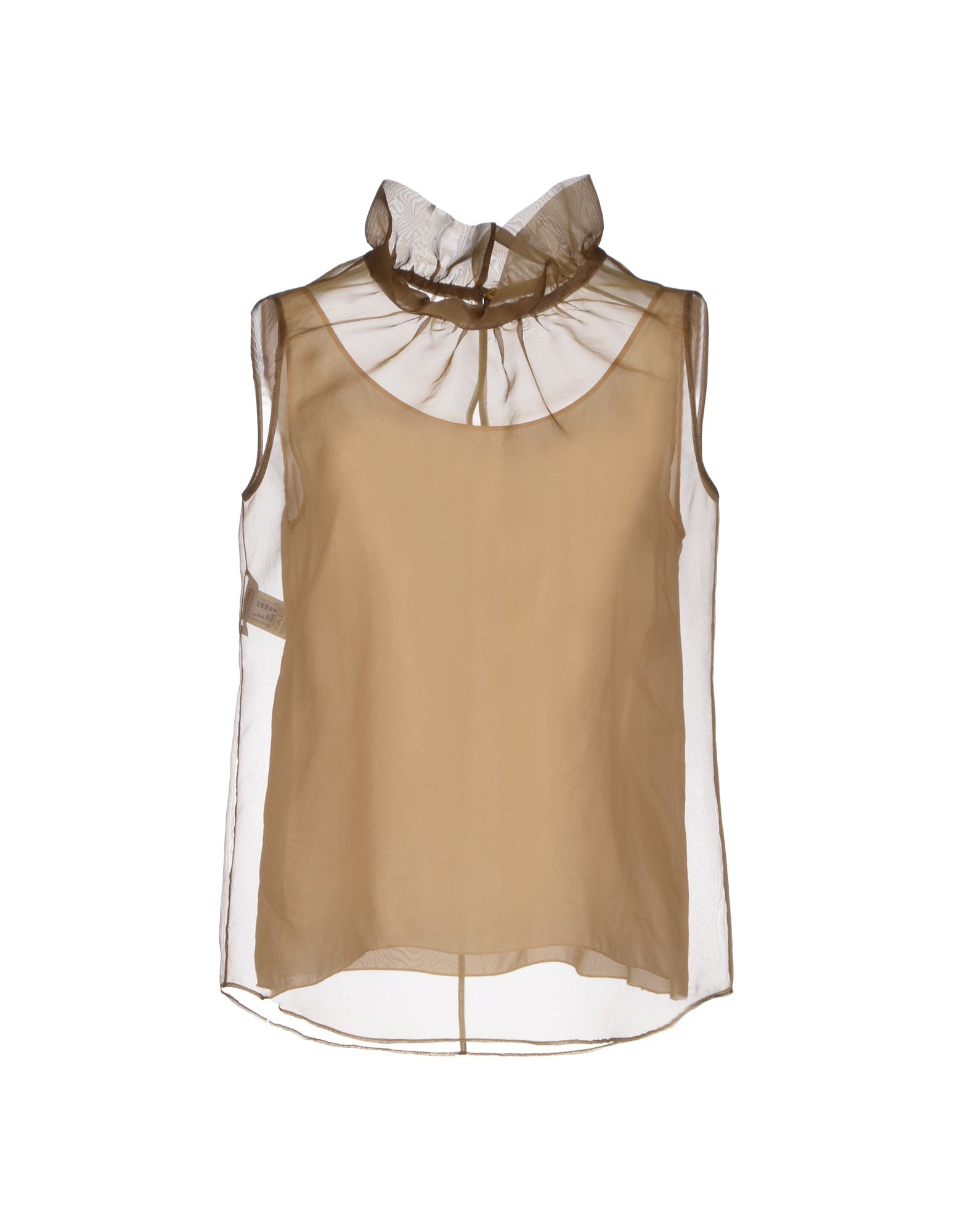 Boutique moschino top in green military green lyst for Boutique tops