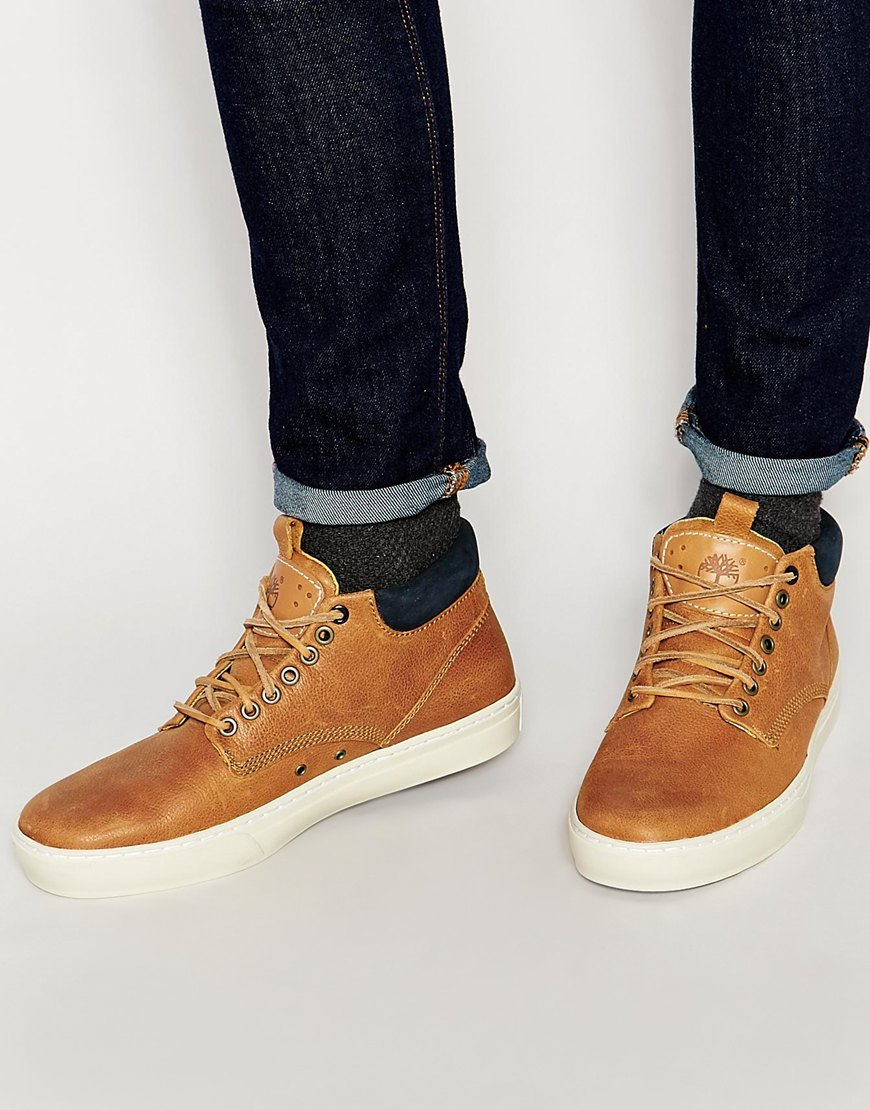 Lyst - Timberland Adventure Cupsole Chukka Boots in Brown for Men 6ae162a47079