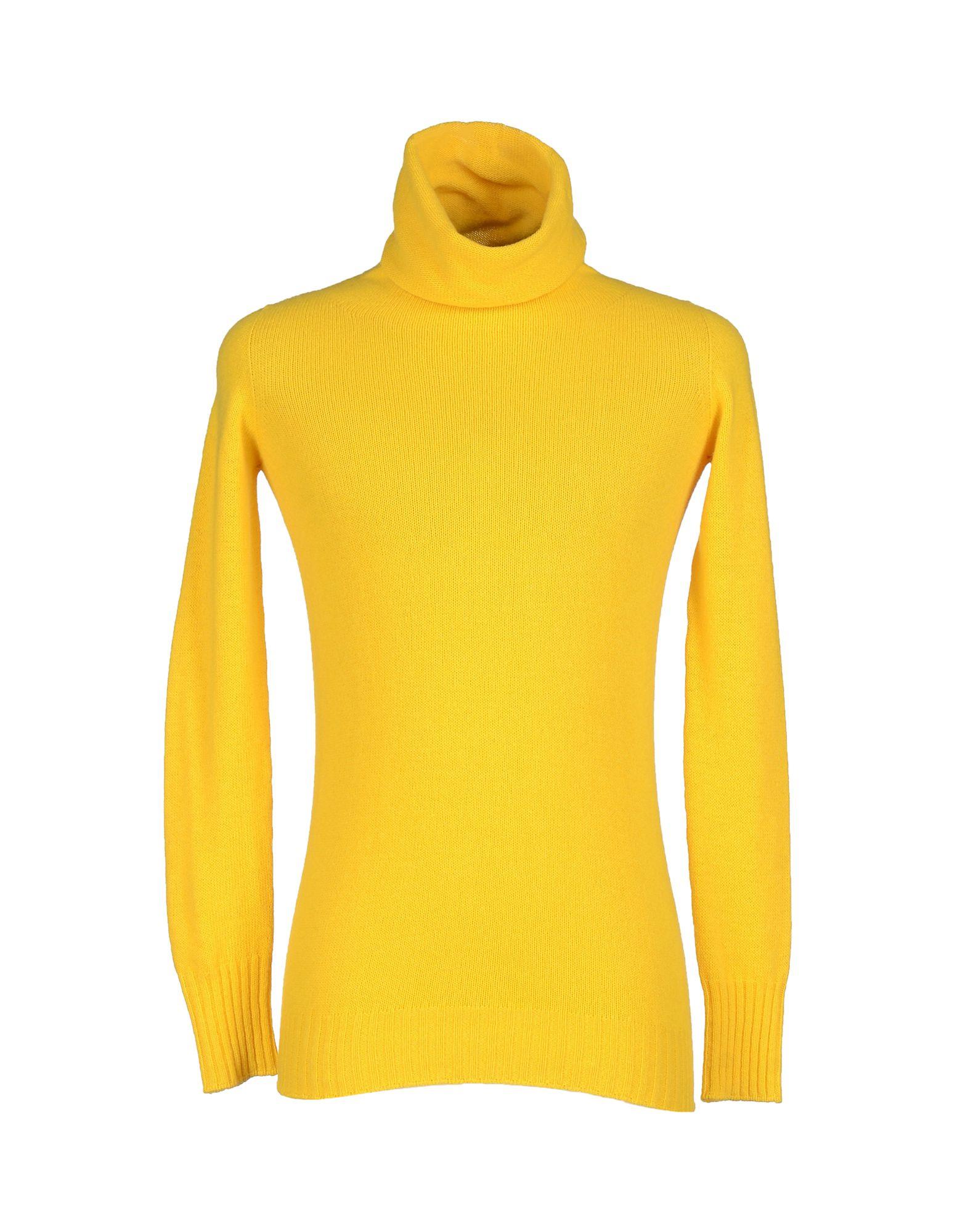 Roberto collina Turtleneck in Yellow for Men