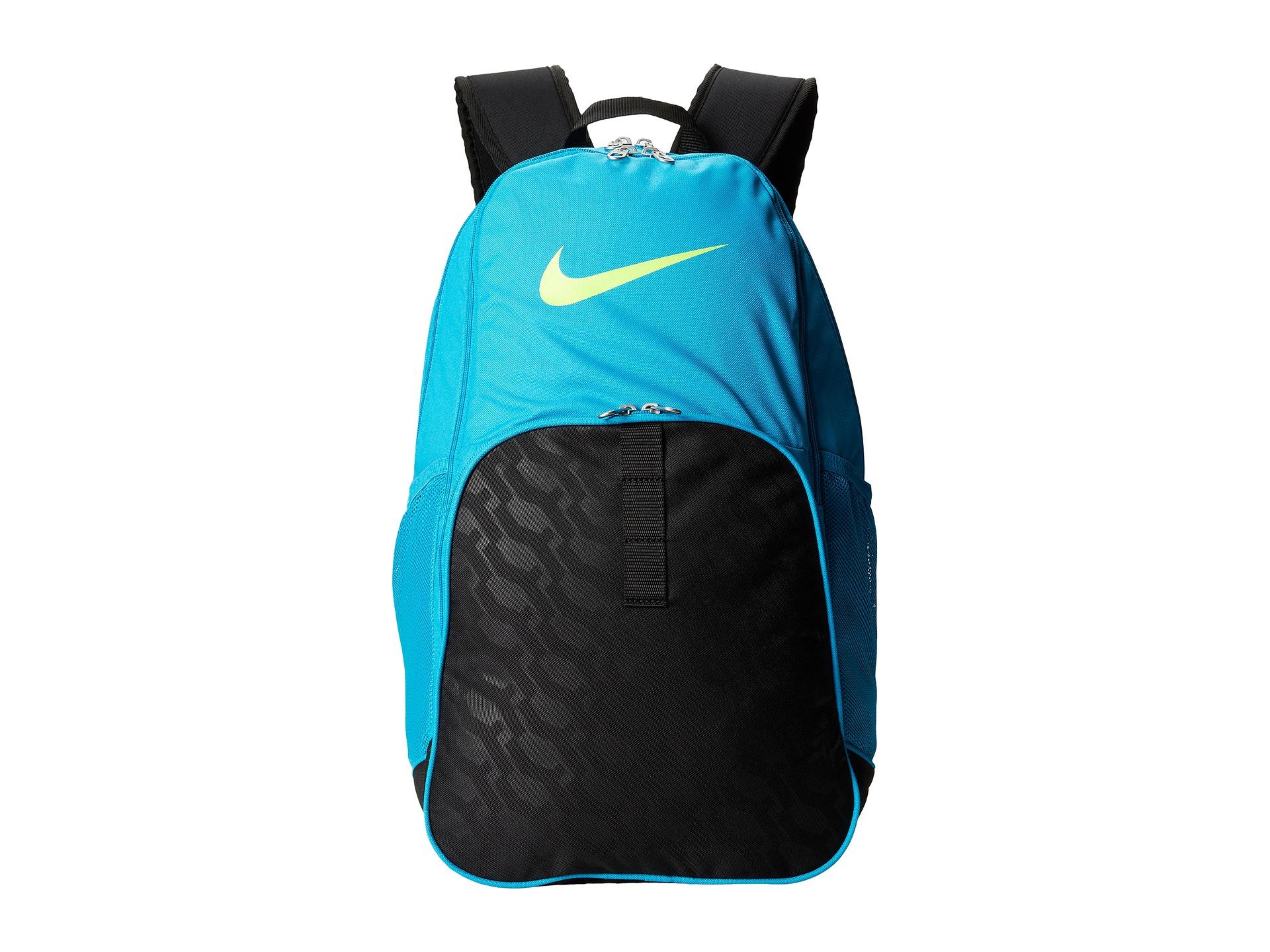 Nike Brasilia 6 Mesh Backpack Aqua - CEAGESP 4250be478