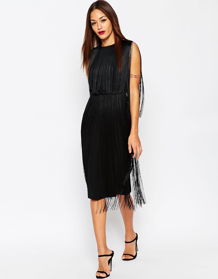 how to add fringe to a dress