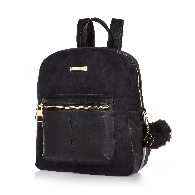 1786585a60 Mini Black Backpack River Island- Fenix Toulouse Handball