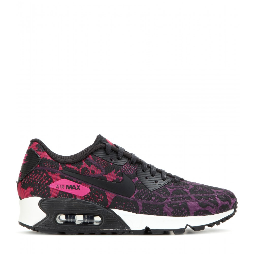 Nike Pink Animal Print Shoes