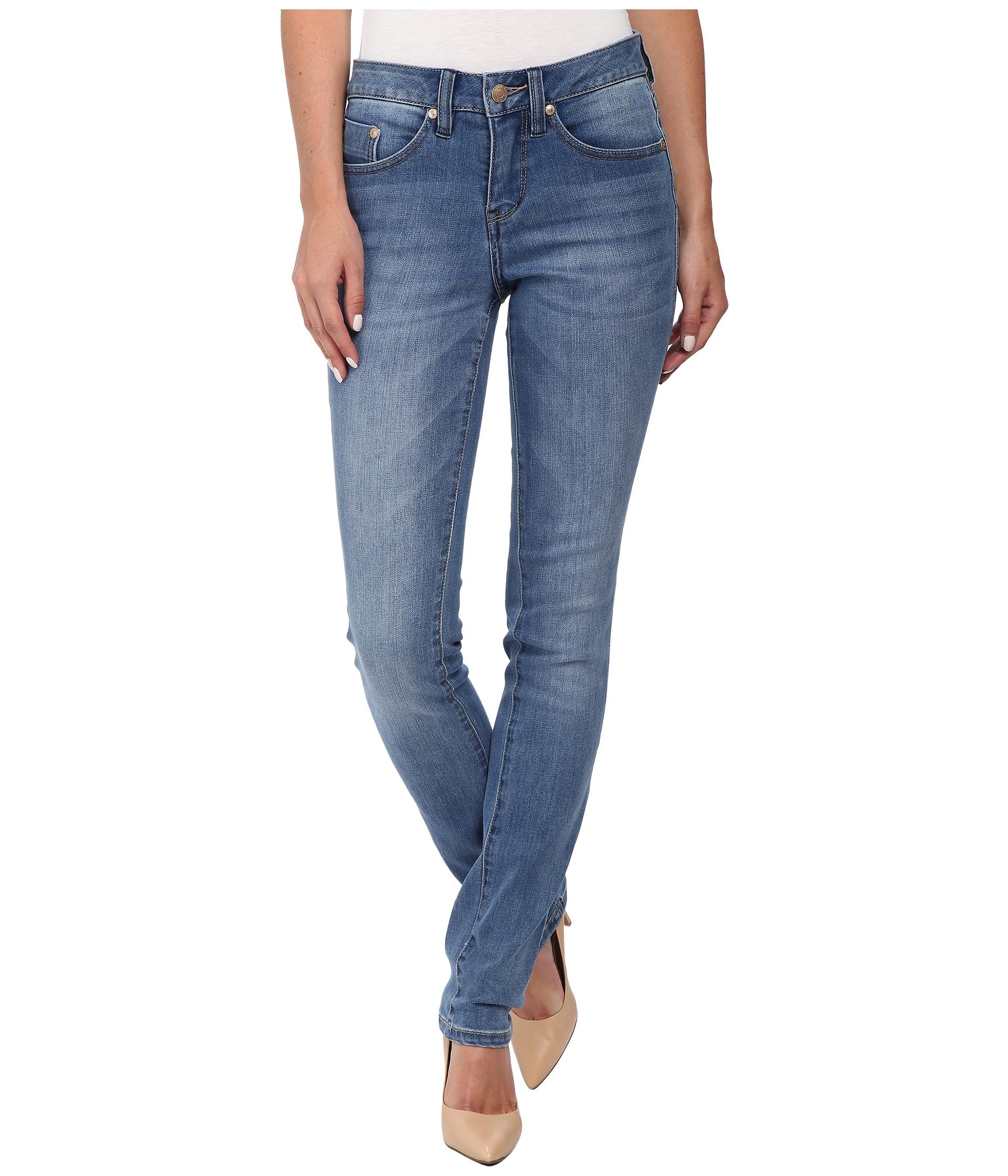 Lyst - Jag Jeans Hayward Mid Rise Slim Alpha Denim In Blue Water in Blue