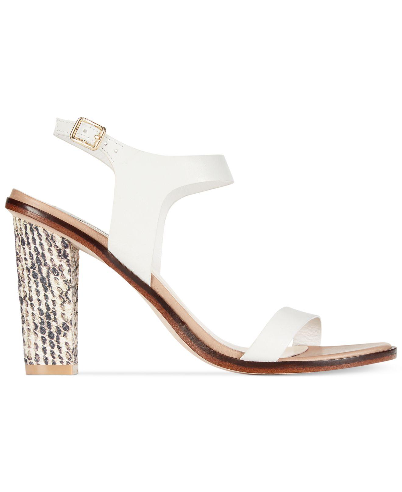 16a3bb7e12cd Lyst - Cole Haan Women S Cambon High Heel Sandals